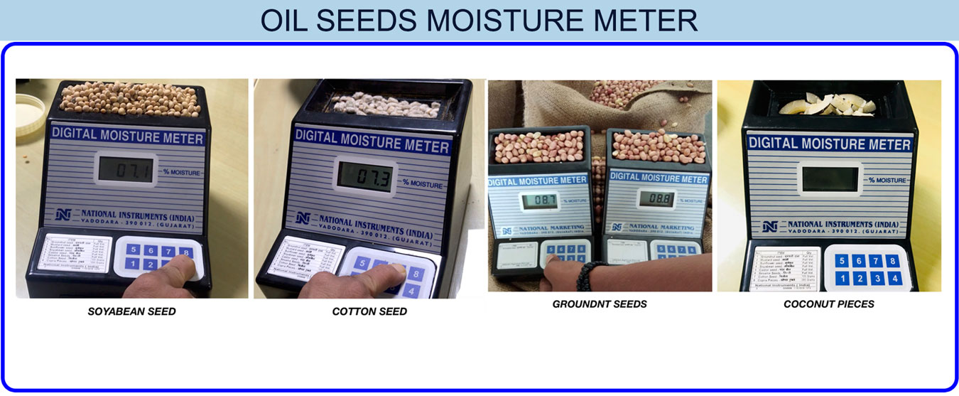 Oil Seed Moisture meter